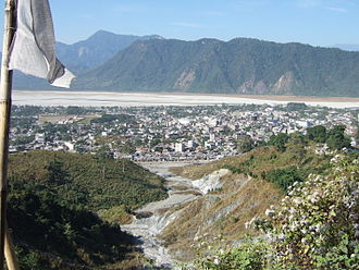Chukha District - View of Phuntsholing, Chukha District