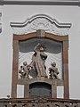 Piarist Church. Statue of Saint Joseph of Calasanz. - Vác.JPG