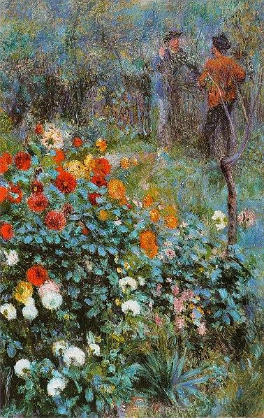 File:Pierre-Auguste Renoir - Jardin de la rue Cortot.jpg