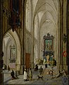 Pieter Neefs (I) - Interior of a Gothic church.jpg