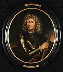 Ovaal portret van Willem Bastiaensz. Schepers