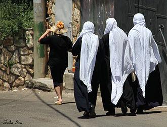 Peki'in - Druse women of Peki'in, 2011