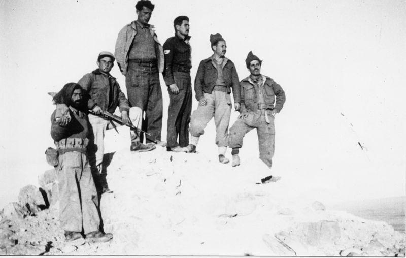 מבצע חורב - מפקדים על פסגת המשרפה