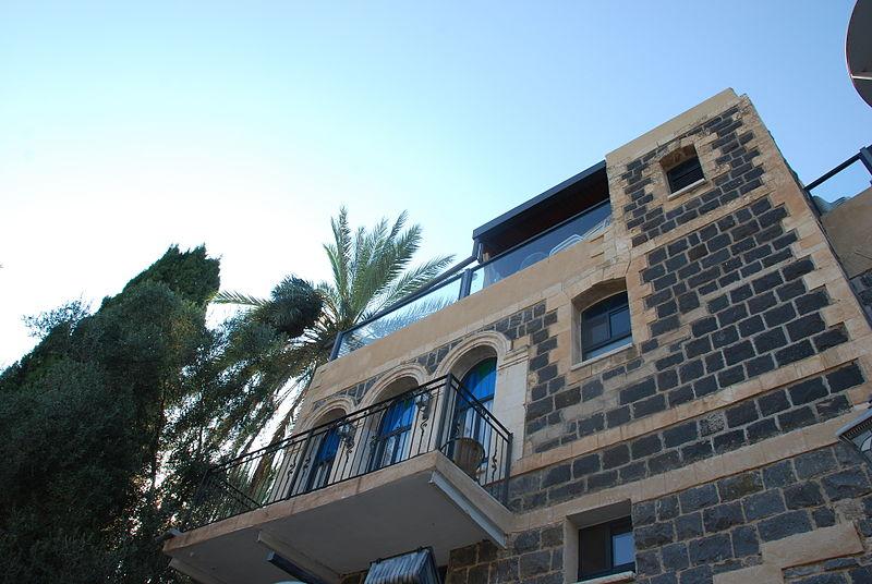 Building in Tiberias