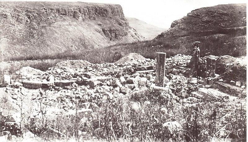 חורבות בית הכנסת באירביד ארבל