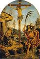Pinturicchio, crocifissione con san girolamo e san cristoforo.jpg