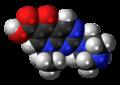 Pipemidic acid molecule spacefill.png