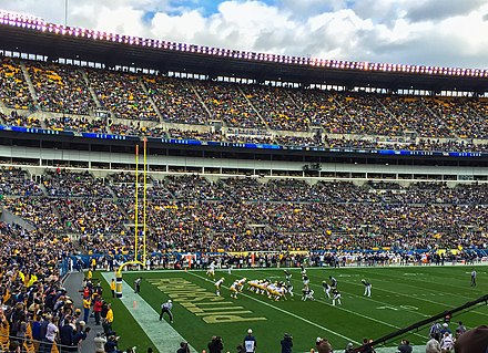 Pitt Football playing Notre Dame at Heinz Field in 2015 Pitt Football plays Notre Dame.jpg