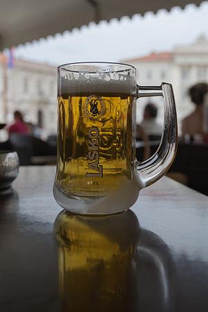 Laško Brewery - A Laško beer in an icecold mug