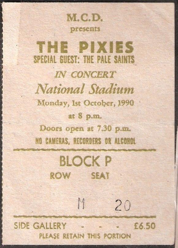 PixiesTicket1990