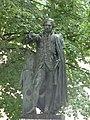 Place Monge, Beaune - statue of Gaspard Monge (34825505793).jpg