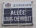Plaque allée Louis-Chevrolet, Suresnes.jpg