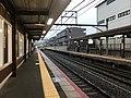 Platform of Uzumasa Station 8.jpg