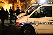 Police municipale de Strasbourg, en France