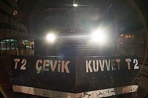 Çevik Kuvvet - TOMA water cannon, Ankara, 2013