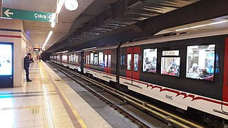 İzmir Metro - Poligon station of the İzmir Metro