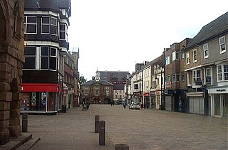 Pontefract - Market Place