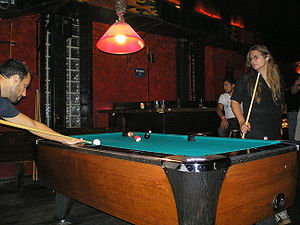 Eight-ball - American bar players