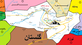Pur Chaman District District in Farah Province, Afghanistan