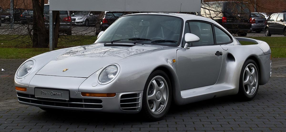 Porsche 959 Вікіпедія