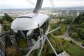 Portland Aerial Tram departs OHSU campus.png
