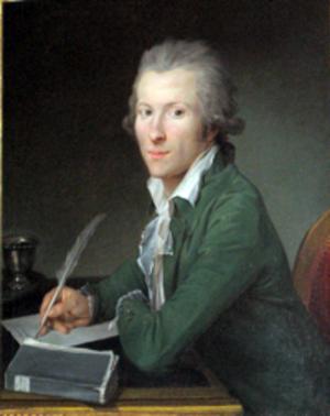 Nicolas Benjamin Delapierre - Nicolas Benjamin Delapierre, Portrait of a seated gentleman, 1785