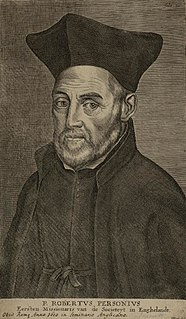 Robert Persons English Jesuit priest