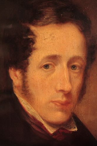 Robert Tannahill - Portrait in Paisley Museum