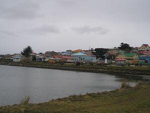 Porvenir, Chile - A view of Porvenir