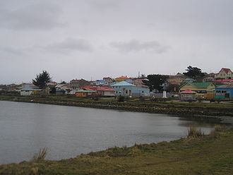 Porvenir, Chile - A view of Porvenir