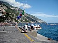 Positano Port to the West - panoramio.jpg