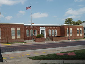 Pratt, Kansas - U.S. Post Office (2009)