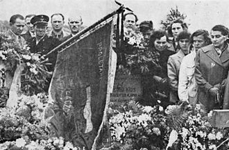 Poznań 1956 protests - Funeral of one of the victims in June 1956