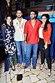 Prachi Desai, Abhishek Bachchan, Ajay Devgn, Asin 'Bol Bachchan' team on the sets of Taarak Mehta Ka Ooltah Chashmah 04.jpg