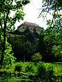 Praha, Bubeneč, Pohled na místodržitelský letohrádek ze Stromovky.jpg