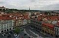 Praha, Malostranské náměstí z věže kostela sv. Mikuláše - panoramio.jpg