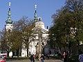 Praha, Strahovský klášter, nádvoří 01.jpg