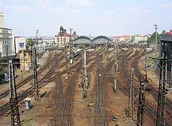 Železniční stanice Praha hlavní nádraží