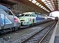Premiers TGV à Strasbourg en décembre 2006.JPG