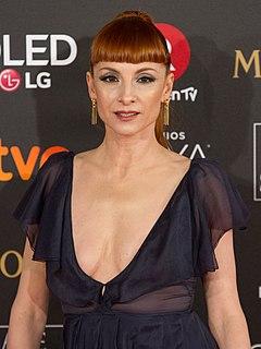 Spanish actress and singer of Jordanian descent