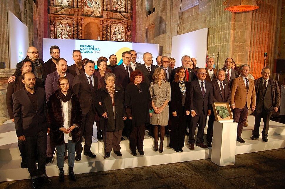 Premios da Cultura Galega 2018