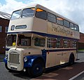 Preserved Darlington Corporation bus 7 (AHN 451B) 1965 Daimler CCG5 Roe, 2012 Teeside Running Day (2).jpg