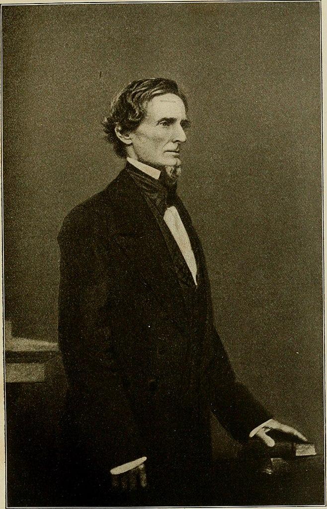 University Of Alabama Online >> File:President Jefferson Davis.jpg - Wikiquote