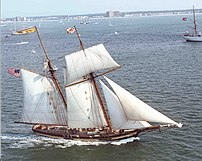 Pride of Baltimore at OpSail 2000