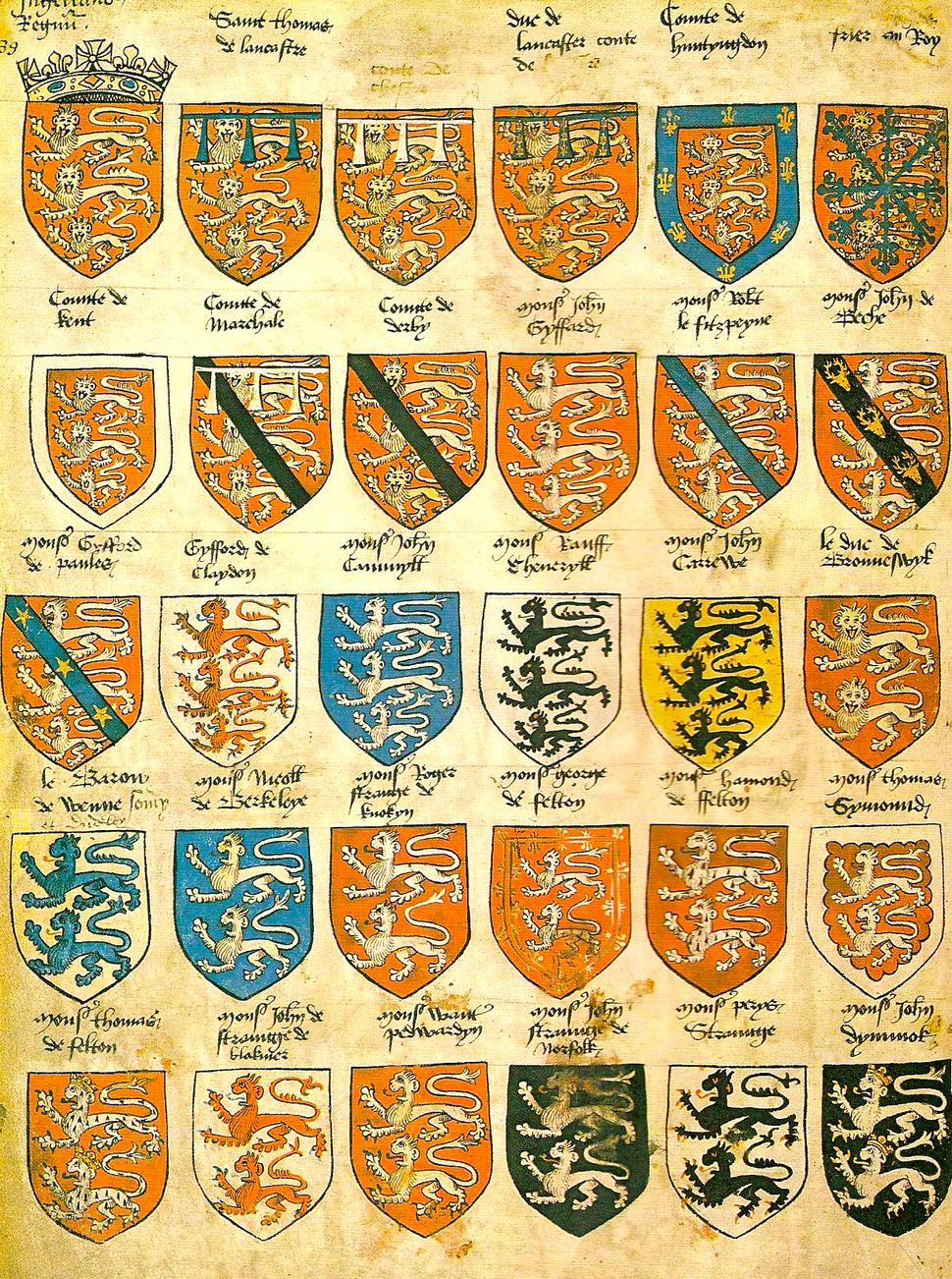Prince Arthur's Book Armorial