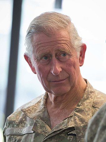 Charles, Prince of Wales, (pictured in New Zealand, 2015) is the heir apparent to the throne.