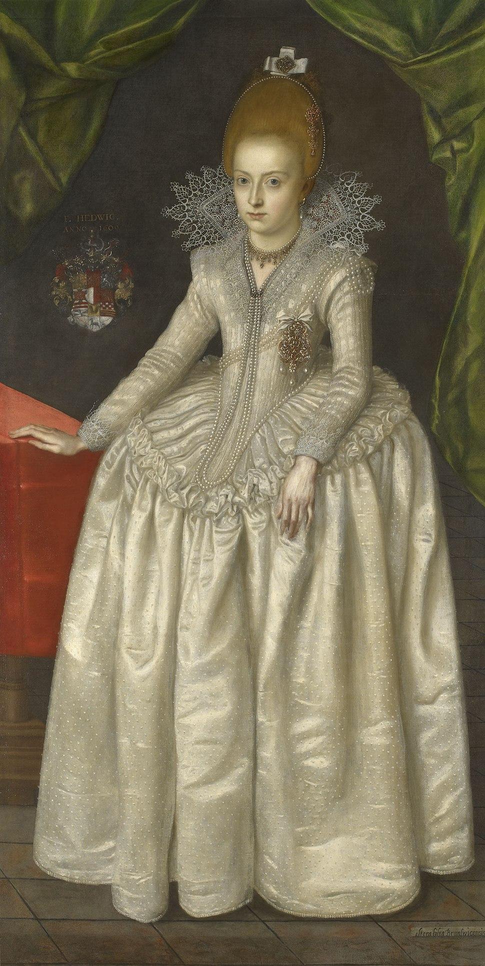 Princess Hedwig of Brunswick-Wolfebuttel, Duchess of Pomerania