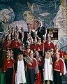 Prins Carnaval, de Raad van Elf en fanfarekorps - Prince Carnival, the Carnival Council and a brass band (5452744809).jpg