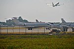 Private jets, Ngurah Rai Airport, Bali, Indonesia.jpg