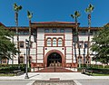 Proctor Library, Flagler College, St. Augustine FL, East view 20160707 1.jpg